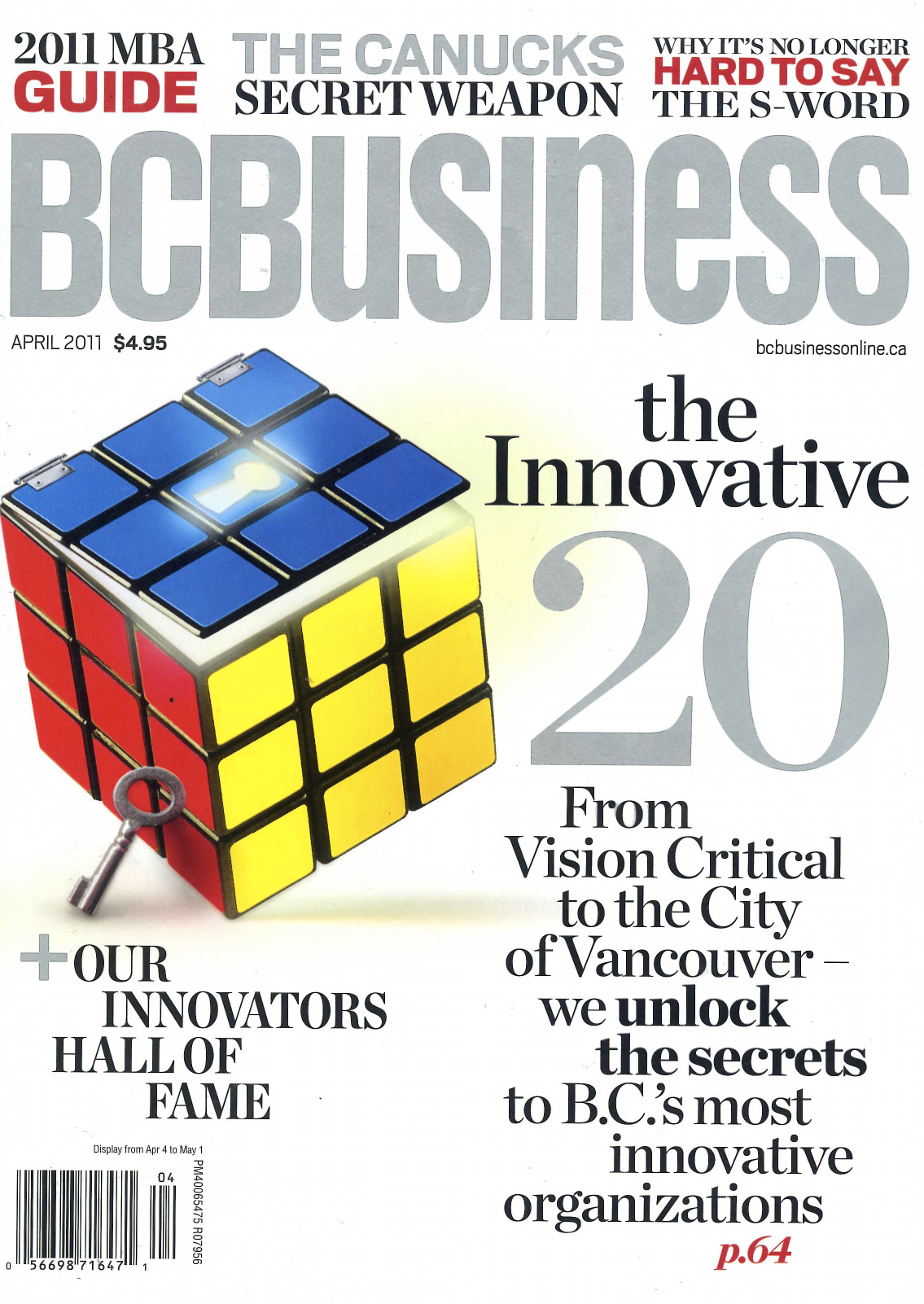 BC Business Cover Page