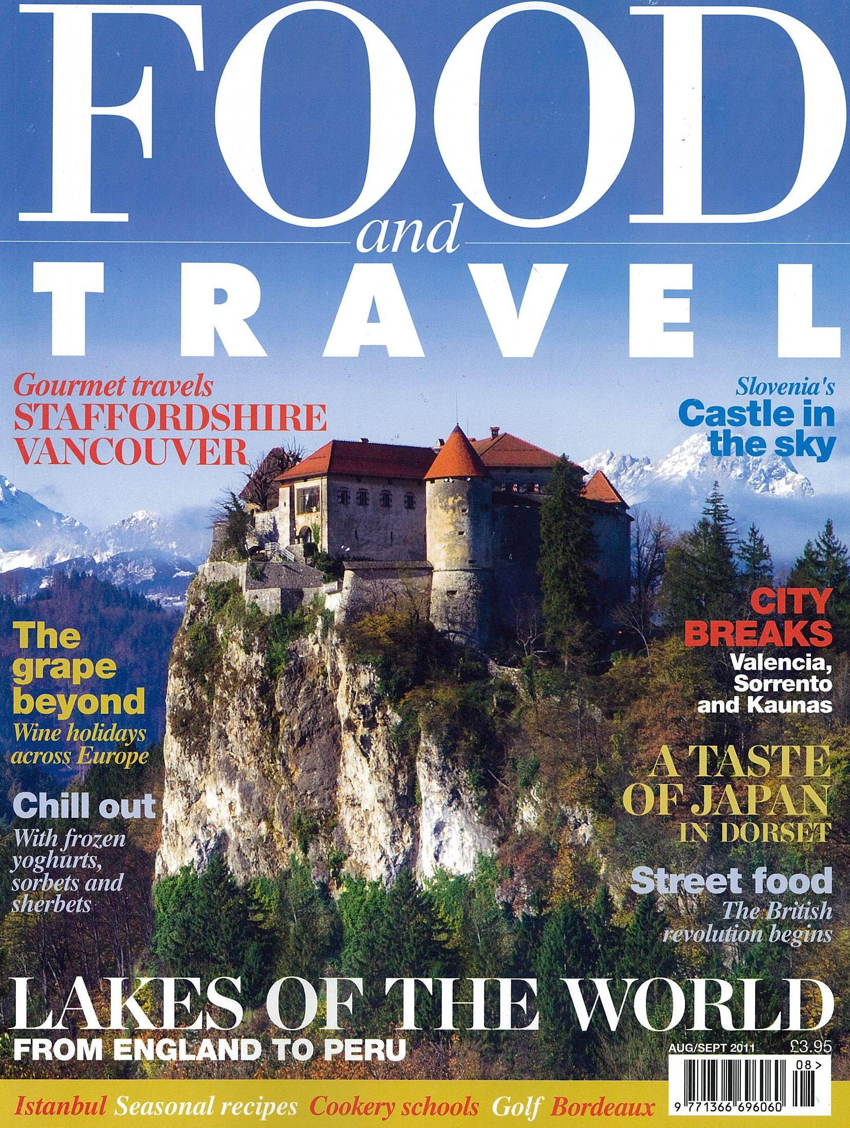 Food and Travel Cover
