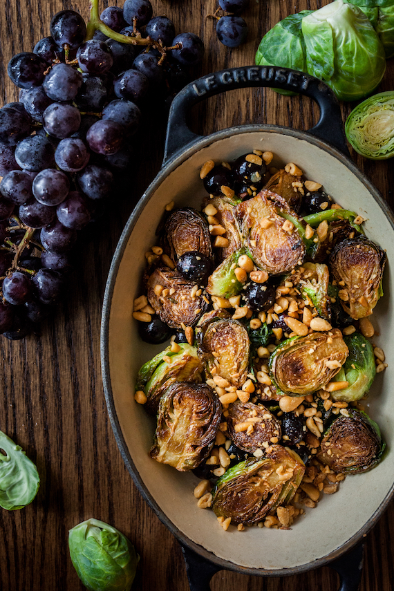 Nightingale's Roasted Brussels Sprouts - Hawksworth Restaurant